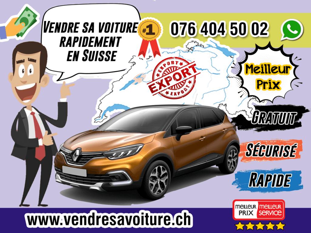 Vendre sa voiture rapidement en Suisse