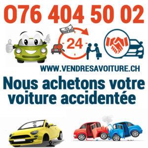 Vendre sa voiture accidentée rapidement pour l'exportation