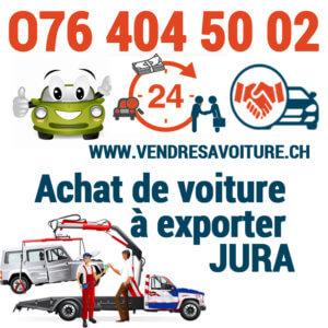 vendre sa voiture pour l'exportation au Jura