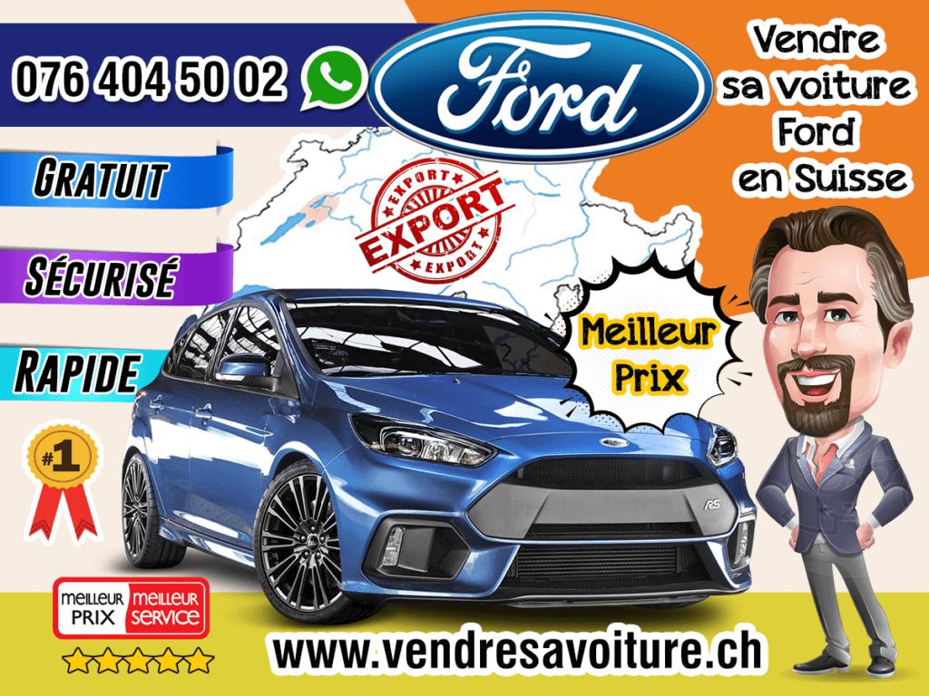 Vendre sa voiture Ford en Suisse