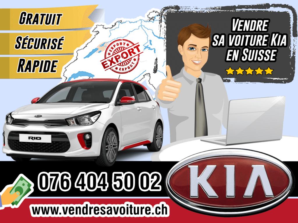 Vendre sa voiture Kia en Suisse
