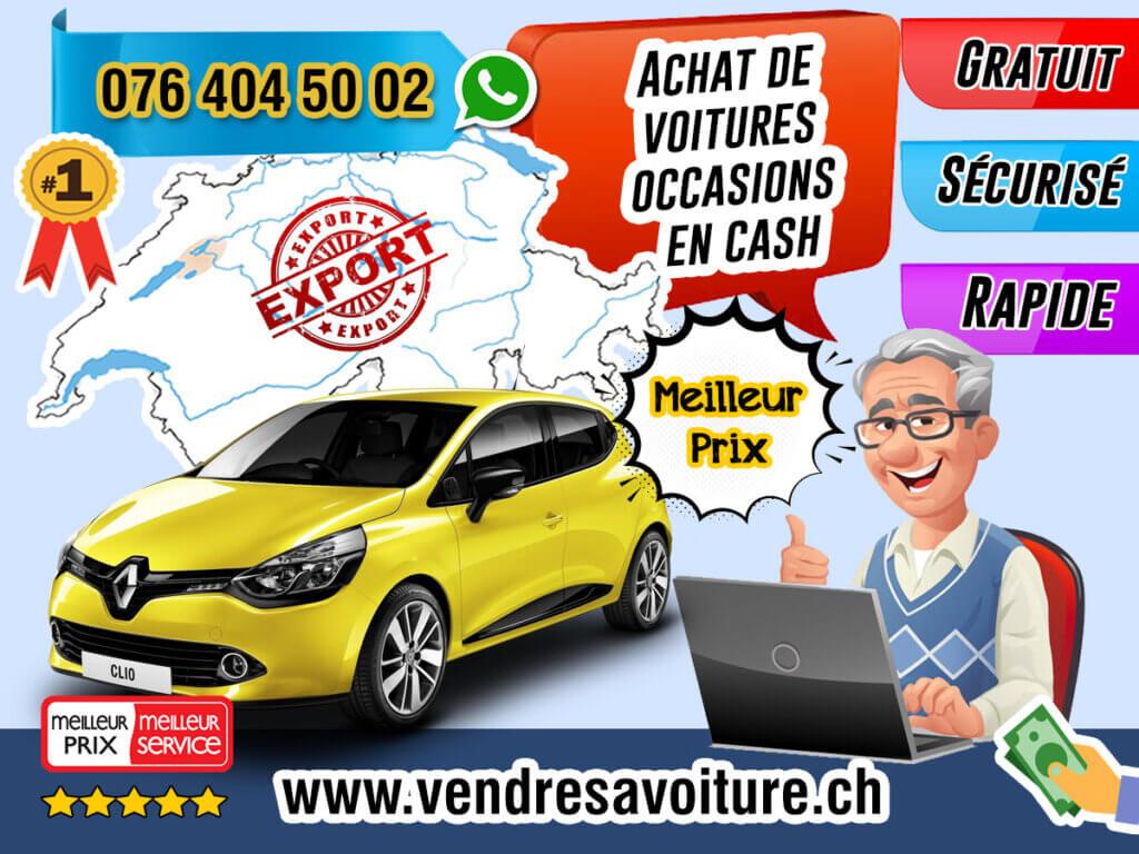 Achat de voitures occasions en cash