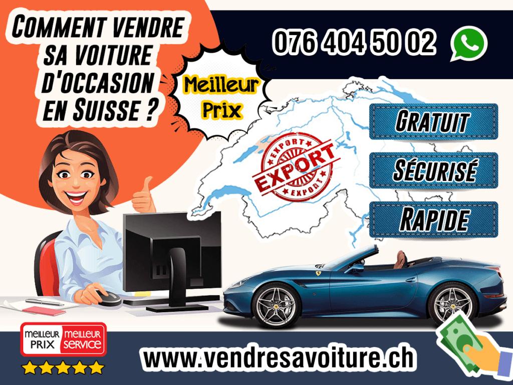 Comment vendre sa voiture d'occasion en Suisse ?