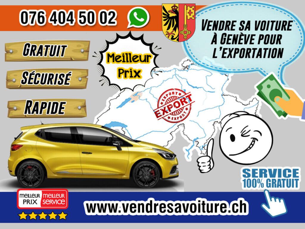 Vendre sa voiture à Genève pour l'exportation