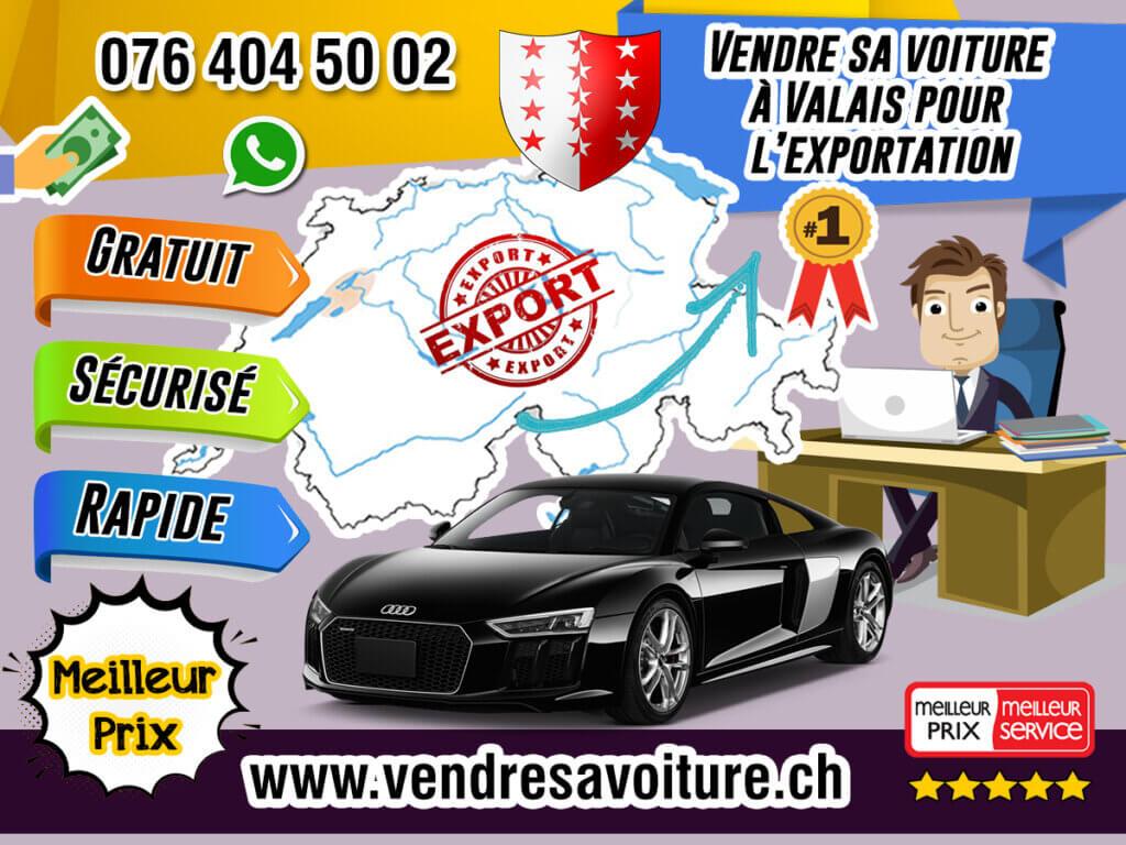Vendre sa voiture à Valais pour l'exportation