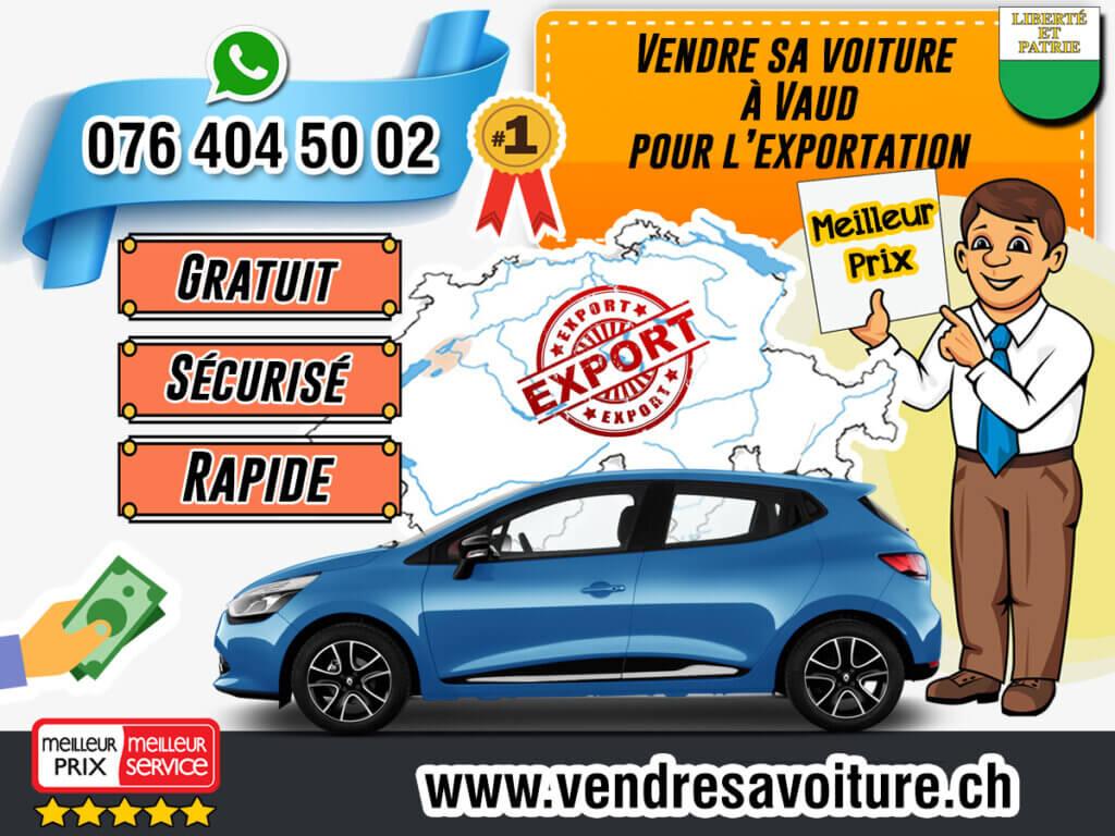 Vendre sa voiture à Vaud pour l'exportation