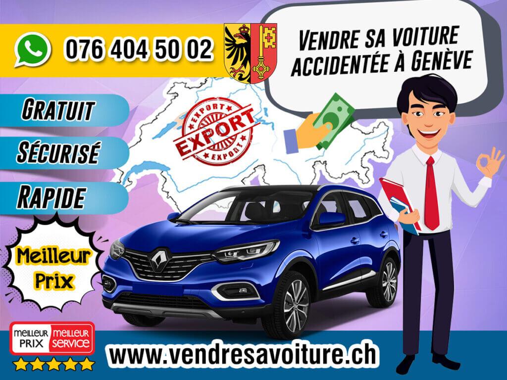 Vendre sa voiture accidentée à Genève