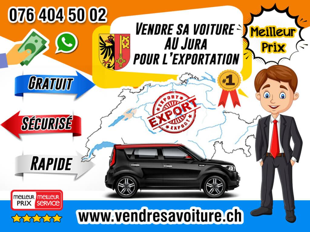 Vendre sa voiture au Jura pour l'exportation