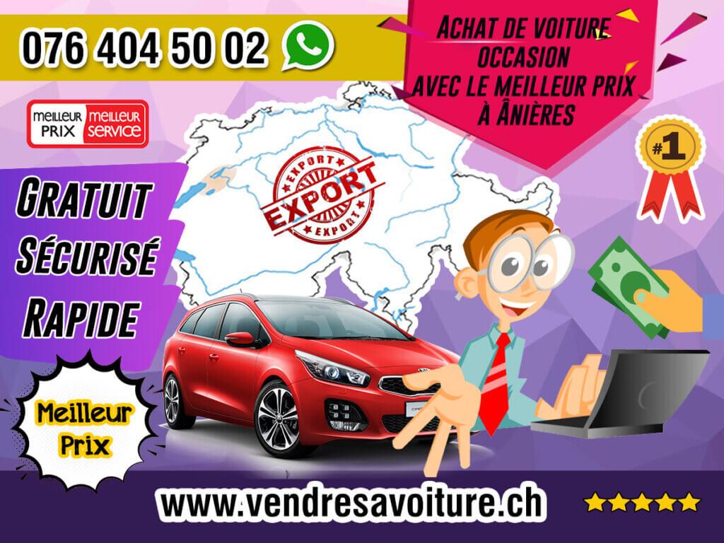 Achat de voiture occasion avec le meilleur prix à Anières