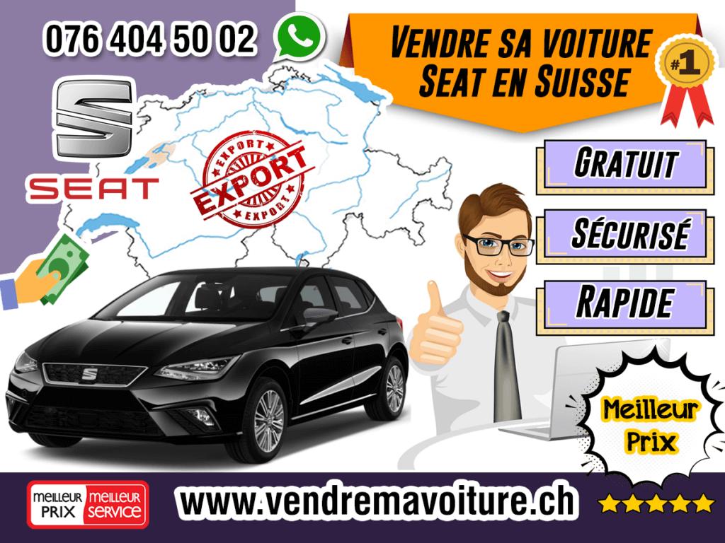 Vendre sa voiture Seat en Suisse