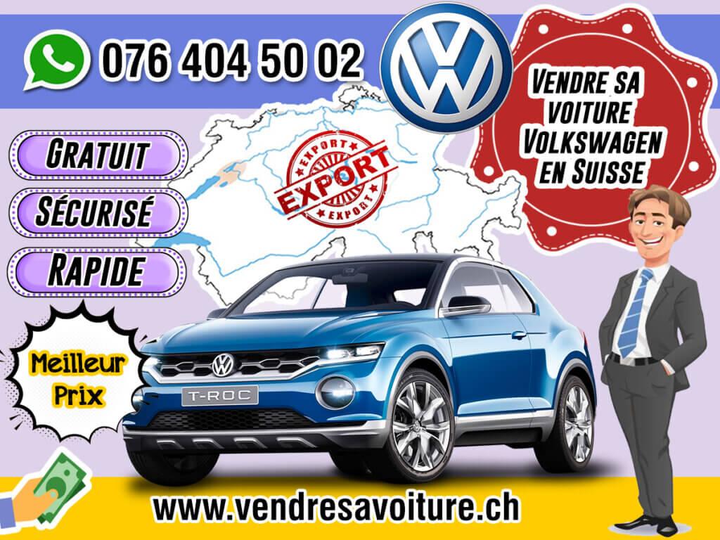 Vendre sa voiture Volkswagen en Suisse