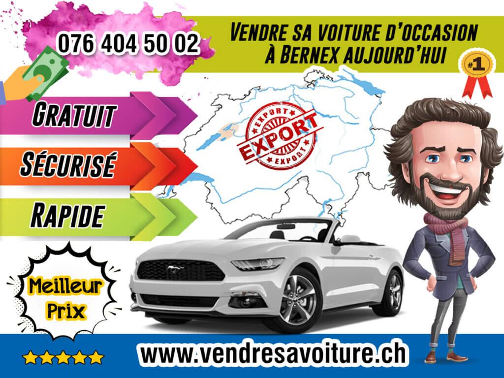 Vendre sa voiture d'occasion à Bernex aujourd'hui