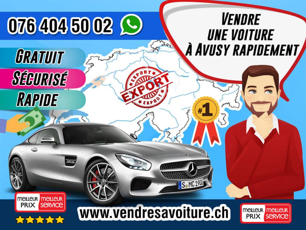 Vendre une voiture à Avusy rapidement